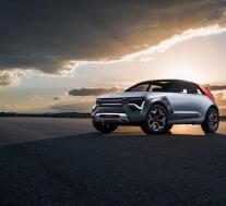 起亚HabaNiro概念车:酷未来技术,名字的混乱