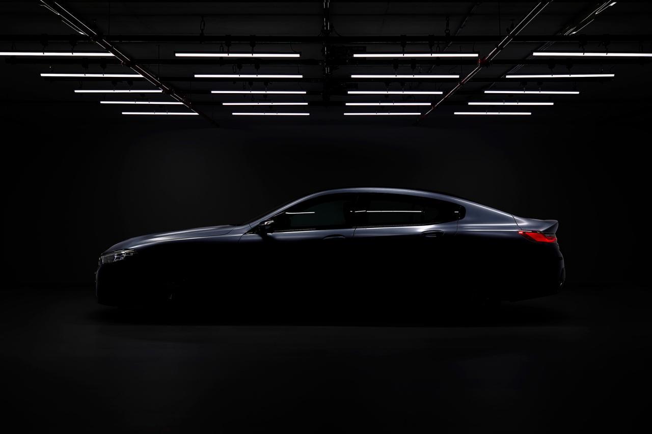 汽车动态:根据BMW的Math,8系+ 2个以上的门= Gran Coupe