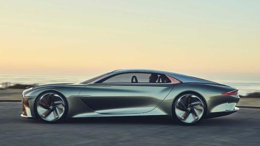 宾利EXP 100 GT将于本周末抵达纽约