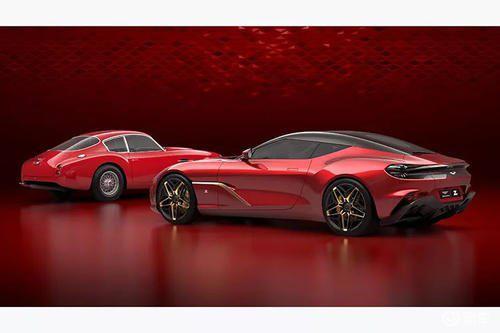 宽体阿斯顿马丁DBS GT Zagato看起来如此抽气