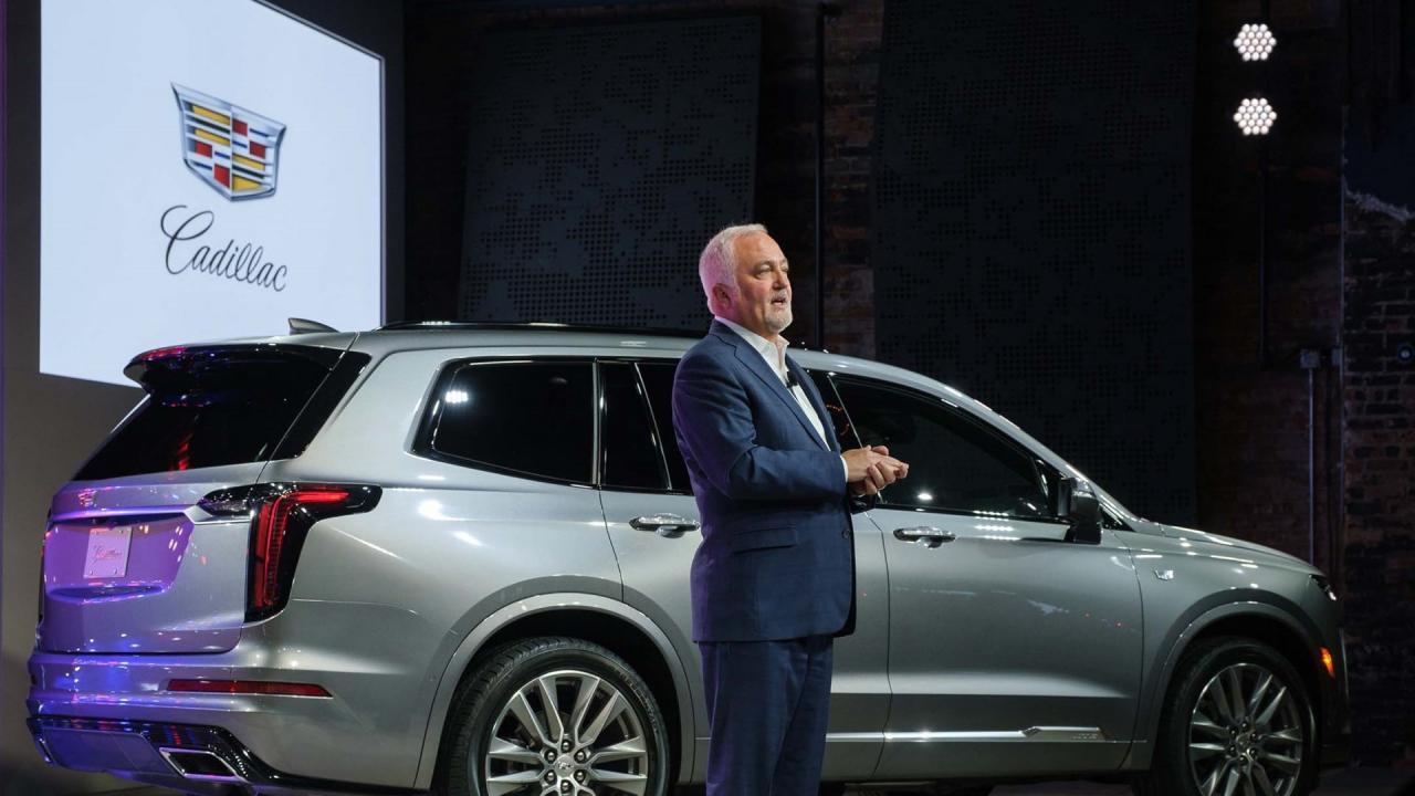 凯迪拉克带回真实的汽车名称,可能会成为全电动汽车
