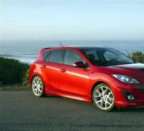 2020 Mazda3 MPS渲染是经典的舱口盖
