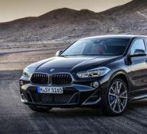 BMW X2 M35i在大量新画廊中闪耀蓝色