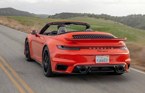 2021保时捷911 Turbo S Sport Design车身套件亮相