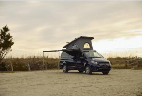 确认Mercedes-Benz Weekender弹出式露营车将前往美国