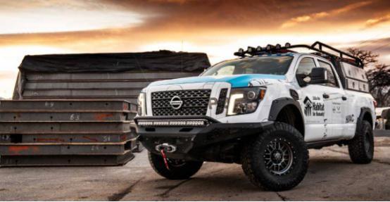 汽车聚焦:日产为人类生境打造光滑的定制柴油Titan XD