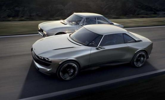标致e-Legend Concept是504轿跑车的回归