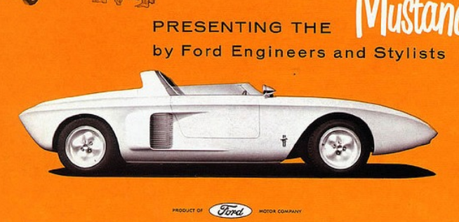 福特制造了中置引擎的野马