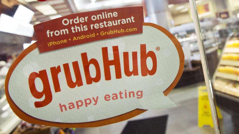 优步可以收购Grubhub打造送餐巨兽