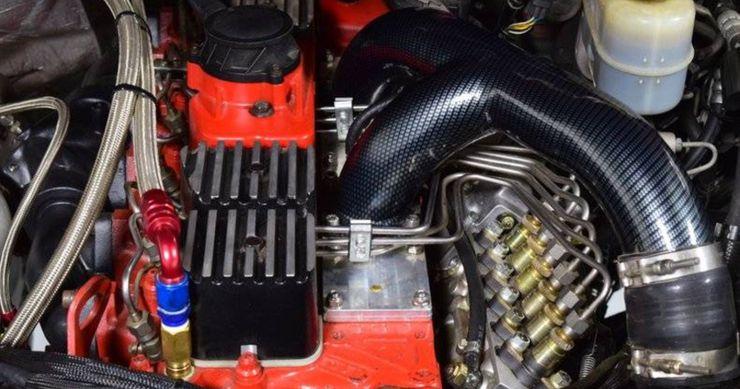 海明斯发现:2007道奇RAM 2500带1,299英尺磅级。扭矩!