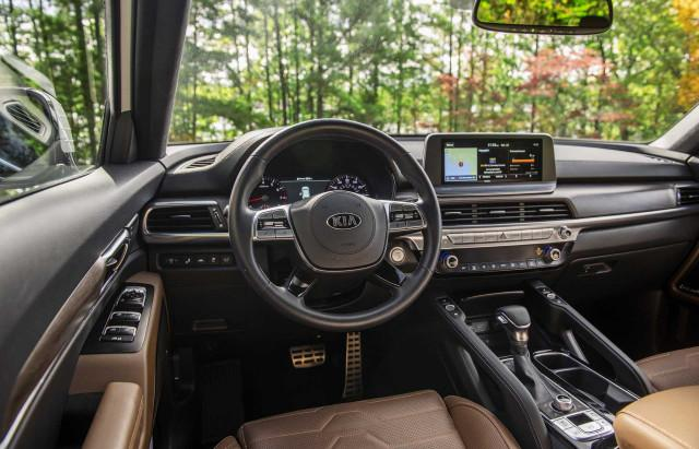 2020年起亚索兰托与2020年起亚特柳赖德:比较跨界SUV