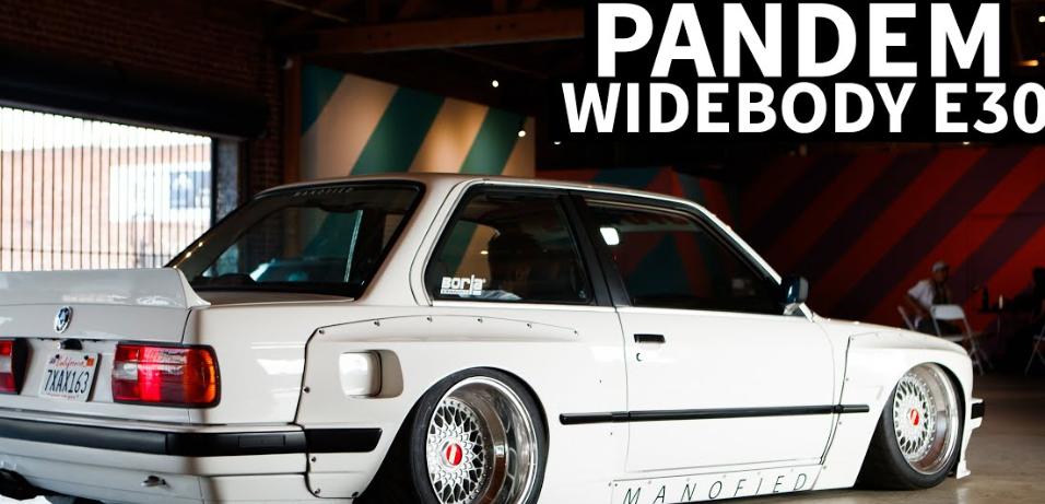 新车资讯:Pandem E30宝马3系有3.8L