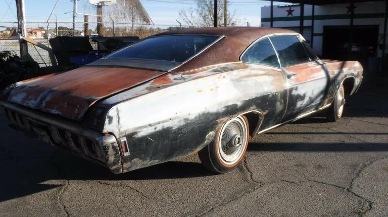 雪佛兰ImpalaSuperSport427混合涂装