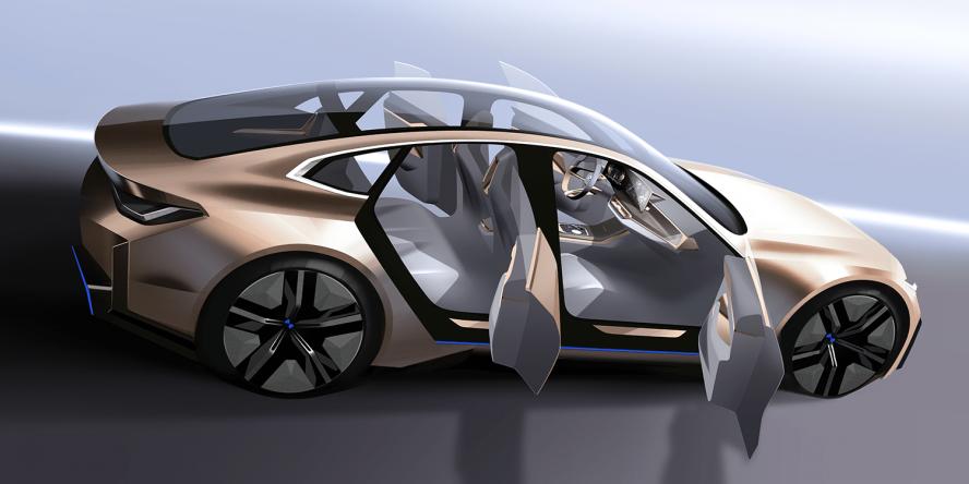 宝马的i4迈向批量生产