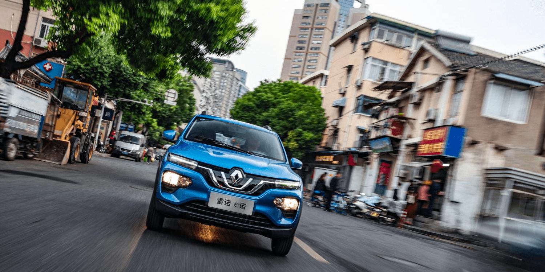 雷诺集团将重点放在中国的电动汽车上