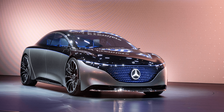 梅赛德斯将提供AMG版本的EQS电动汽车