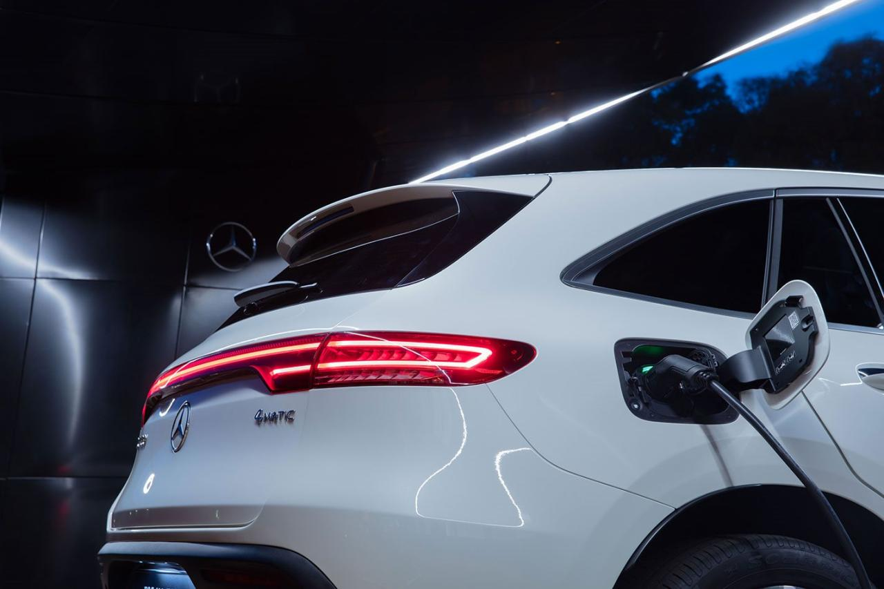 2020梅赛德斯·奔驰 EQC:价格和功能公布