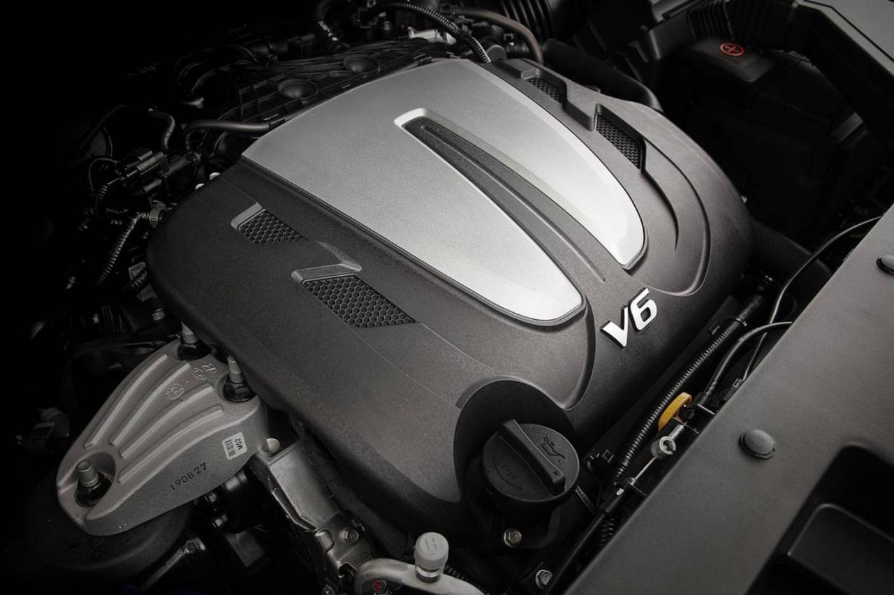 2020年现代圣达菲获得V6动力