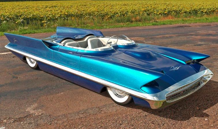 林肯Futura概念车重新定义为低座敞篷跑车
