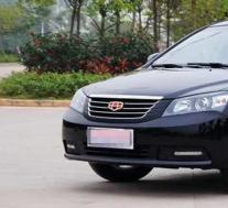 帝豪ec7:低油耗的吉利品牌车型