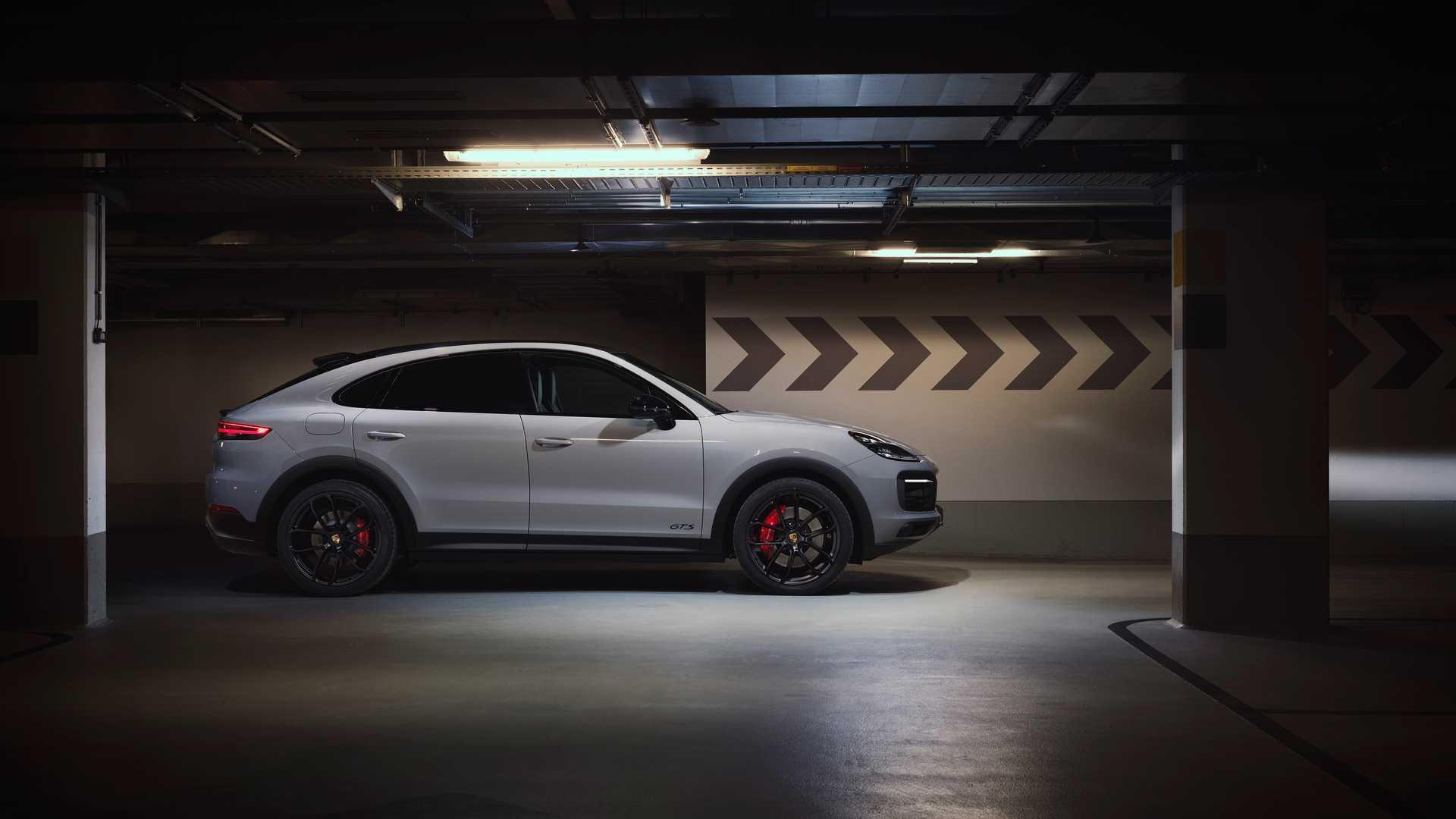 2021年保时捷Cayenne GTS,Coupe GTS首次亮相453 HP V8动力