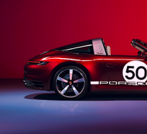 保时捷911 Targa 4S Heritage Design Edition推出搭配计时码表