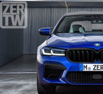 宝马BMW M5展示了渲染图