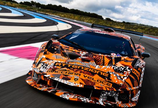 前浪汽车:兰博基尼赛车队830马力SCV12超级跑车