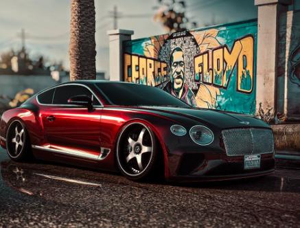 这款经过精心设计的Bentley Continental