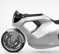 特斯拉Model M电动摩托车概念车