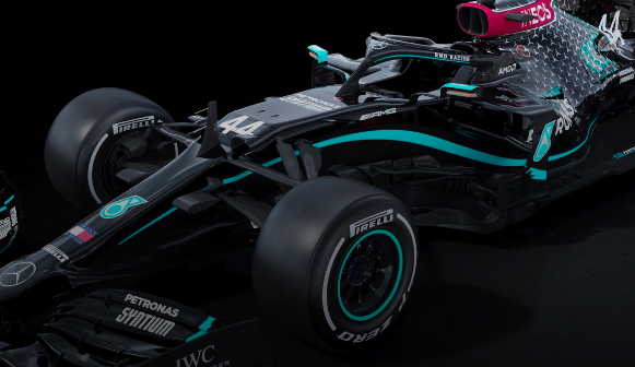 梅赛德斯F1团队采用全黑涂装来促进多样性
