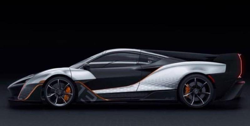 """商标备案间接确认了新款迈凯轮""""佩刀""""超级跑车"""