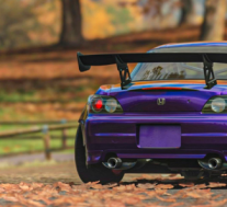 宽体本田S2000搭配Forza的Purple Paint看起来很棒