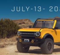 2021年福特Bronco两门车的新渲染图