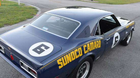 雪佛兰Camaro Penske Sunoco是街头赛车