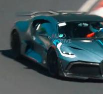 布加迪Divo和Chiron Pur Sport在Nurburgring进行Epic W16声音测试