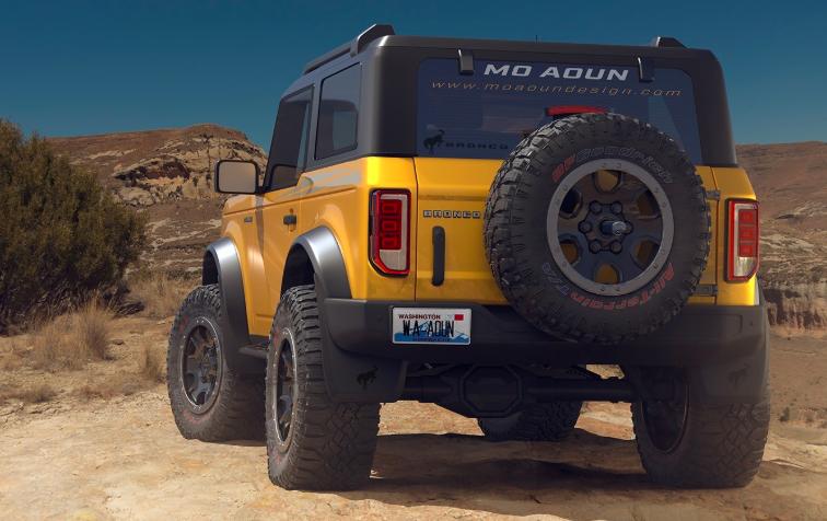 由Teaser Video确认的全新2021福特Bronco V6发动机选装件