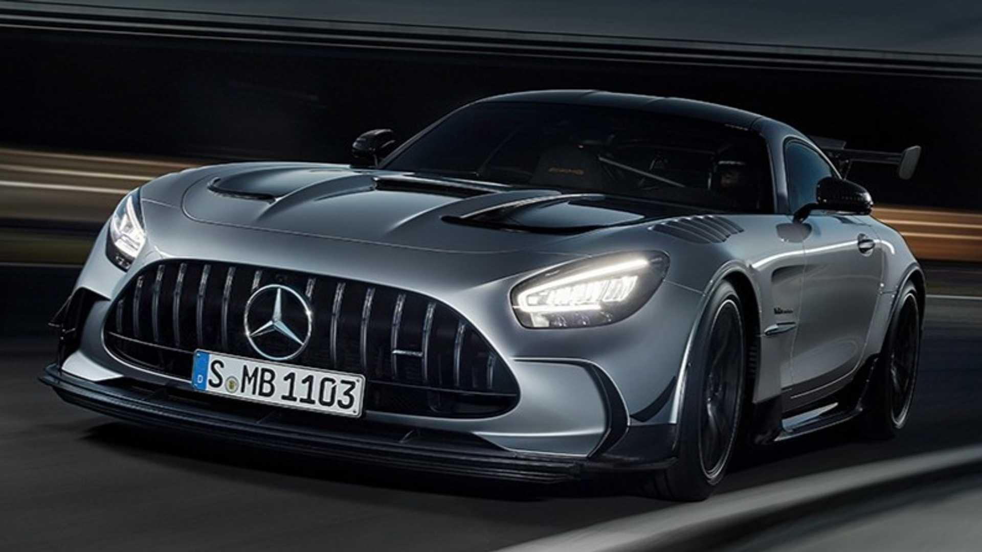 汽车资讯:梅赛德斯AMG GT黑色系列将于7月15日全面亮相