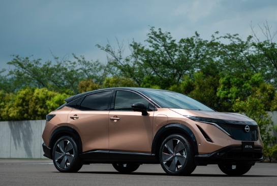 汽车资讯:2022 Nissan Ariya 300英里电动SUV的起价约为40,000美元