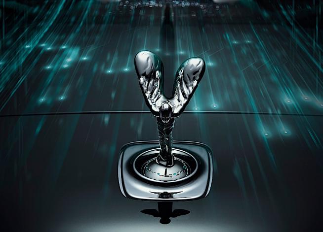 劳斯莱斯(Rolls-Royce)在幽灵上隐藏了一条秘密消息