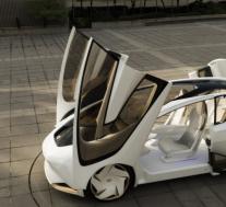 丰田推出全新的汽车Concept-i