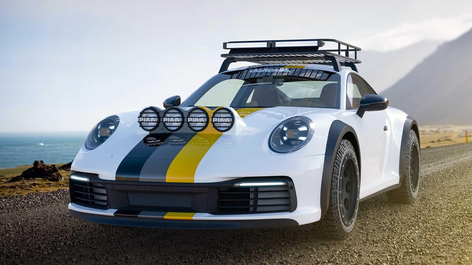 保时捷911从德国改装车获得越野改造