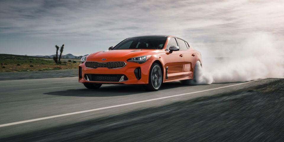 汽车资讯:查看仅用于加拿大的限量版霓虹橙色起亚Stinger GT