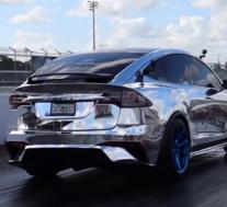 特斯拉Model X创造速度纪录