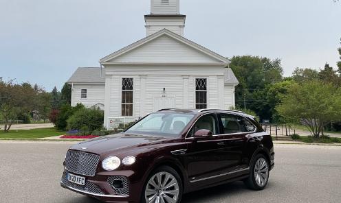 首次驾驶回顾:2021年Bentley Bentayga SUV