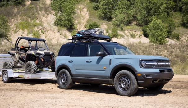 福特用5辆概念车庆祝Bronco成立55周年