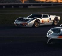 福特的新GT Heritage Edition庆祝1966年获得Daytona奖的GT40