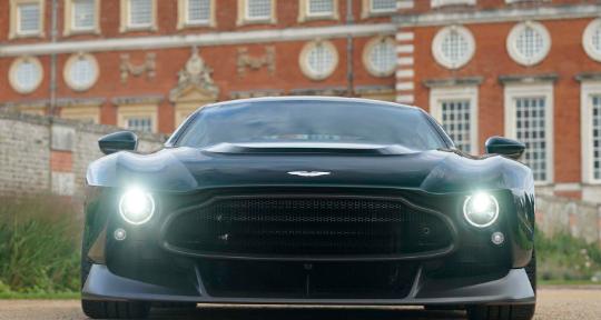 阿斯顿·马丁·维克多(Aston Martin Victor)是一款具有手动变速箱的825马力超级跑车