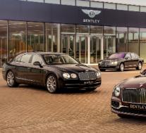 宾利在15年中制造了40,000辆飞驰豪华轿车