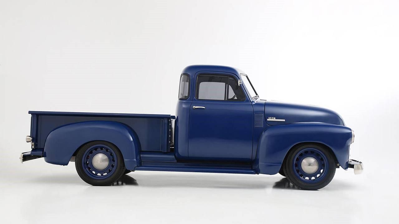 Icon Thriftmaster就像一辆带有现代风格的老雪佛兰卡车